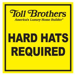 Hard Hats Required 20 Gauge Steel
