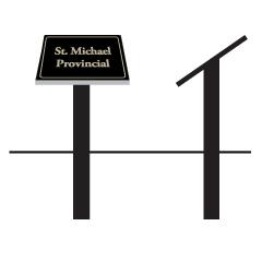 Model Granite Sign